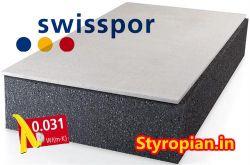 Styropian Grafitowy Fasada Lambda White Grafit Eps 031 Swisspor Z