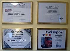 Sprzedawca styropianów certyfikaty